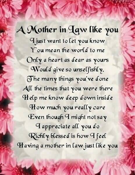 Loving Mother In Law Quotes 05 Quotesbae