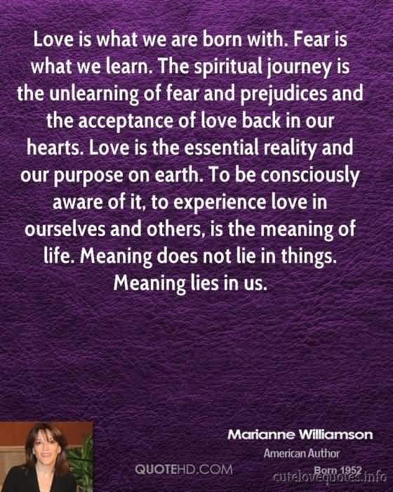 60 Marianne Williamson A Return To Love Quotes QuotesBae Mesmerizing A Return To Love Quotes