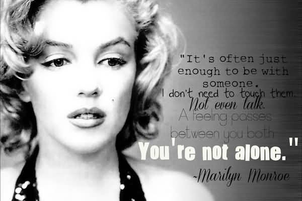 60 Marilyn Monroe Quotes About Friendship QuotesBae Delectable Marilyn Monroe Quotes About Friendship