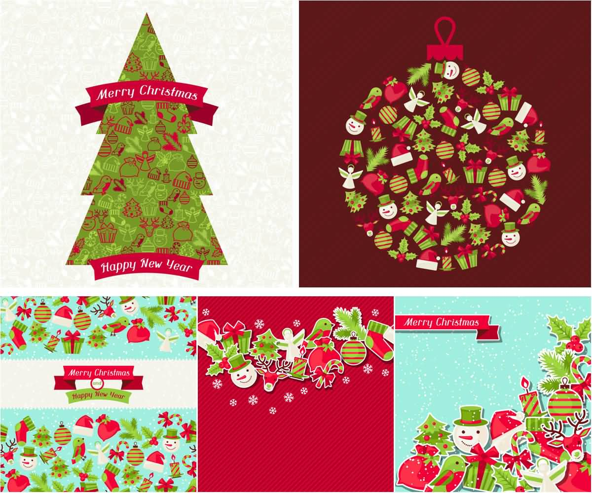 Merry Christmas Cards Image Picture Photo Wallpaper 09