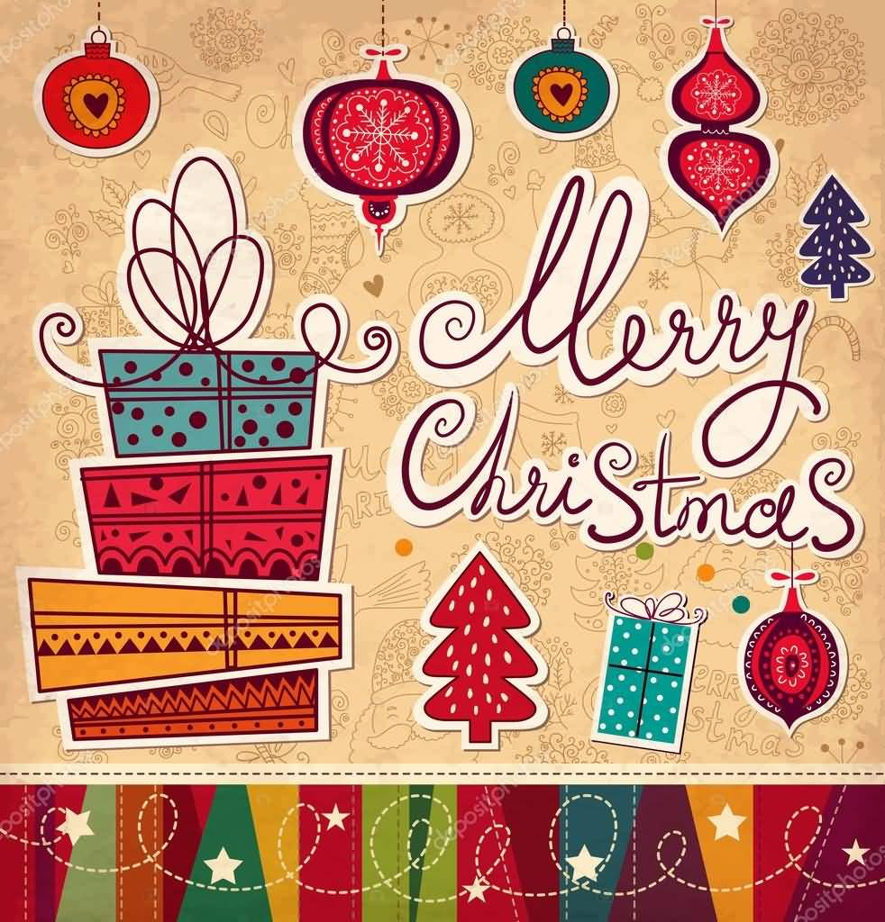 Merry Christmas Cards Image Picture Photo Wallpaper 18