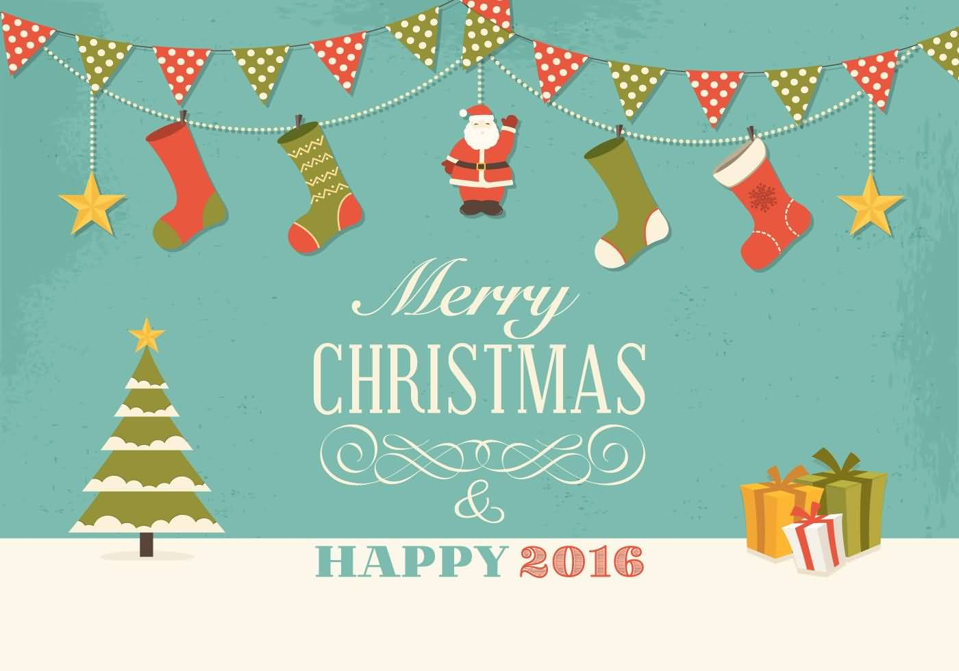 Merry Christmas Cards Vector Image Picture Photo Wallpaper 03