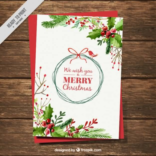 Merry Christmas Cards Vector Image Picture Photo Wallpaper 06