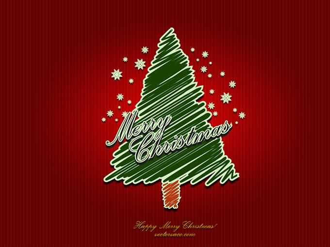 Merry Christmas Cards Vector Image Picture Photo Wallpaper 07