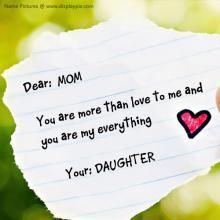 Mom Daughter Love Quotes 01