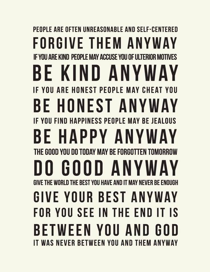 Mother Teresa Quotes Love Them Anyway 14