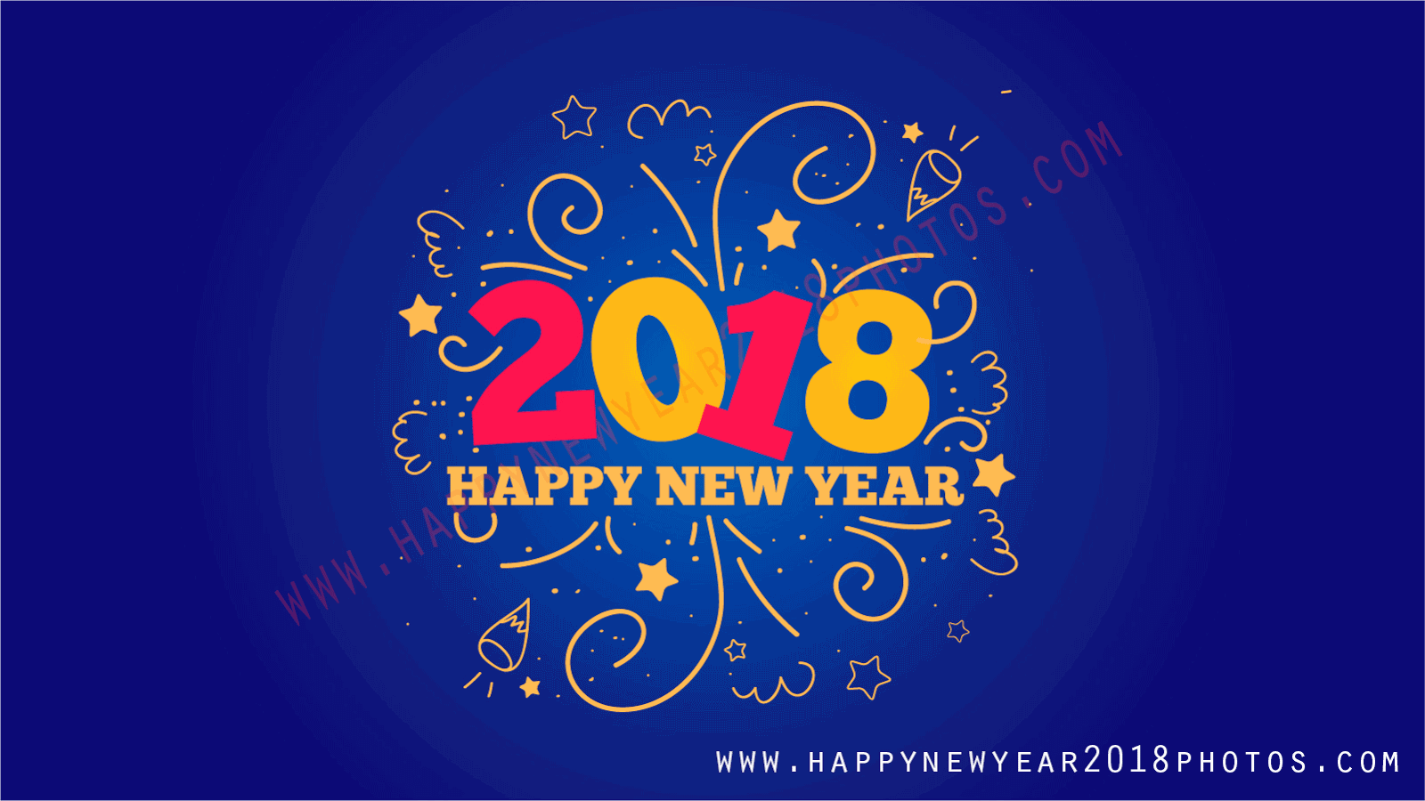 New Year 2018 Cards Wishes Image Picture Photo Wallpaper Greetings 02