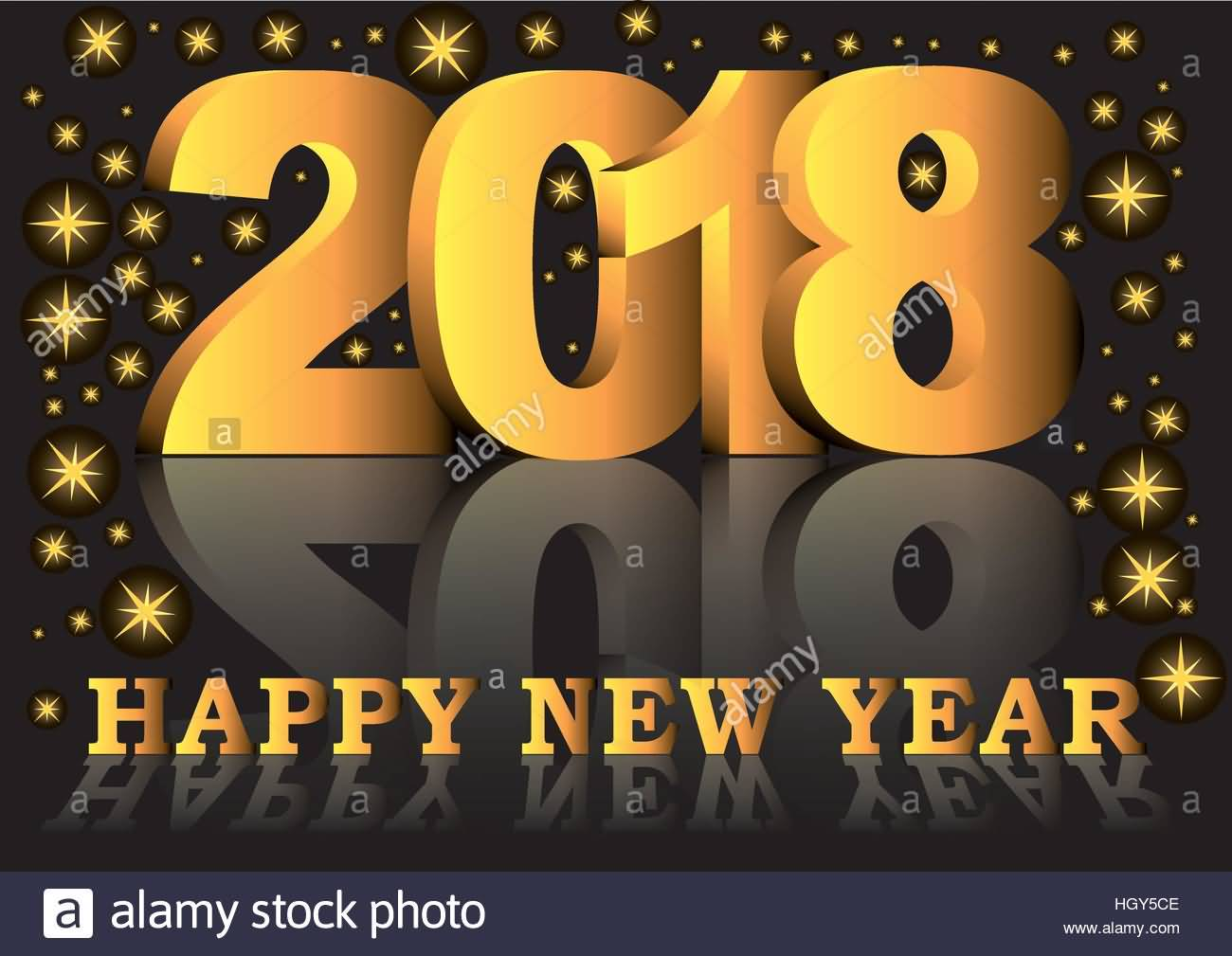 New Year 2018 Cards Wishes Image Picture Photo Wallpaper Greetings 07