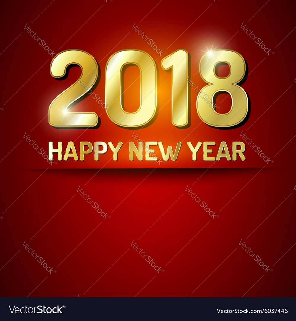 New Year 2018 Cards Wishes Image Picture Photo Wallpaper Greetings 09