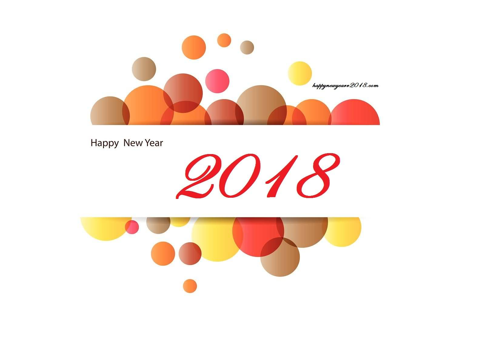New Year 2018 Cards Wishes Image Picture Photo Wallpaper Greetings 11