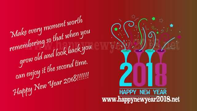 New Year 2018 Cards Wishes Image Picture Photo Wallpaper Greetings 15