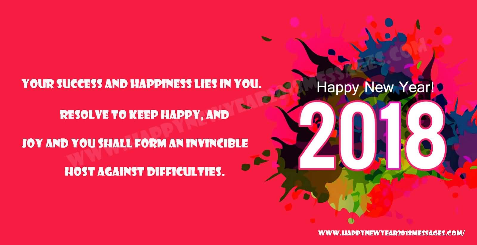 New Year 2018 Status Image Picture Photo Wallpaper 03