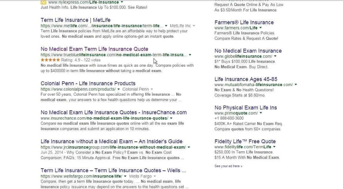 No Exam Life Insurance Quotes 60 QuotesBae Amazing No Exam Life Insurance Quote