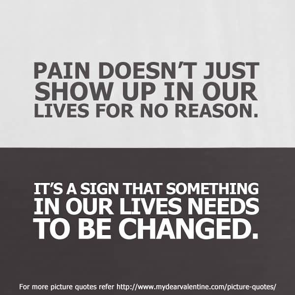 Pain And Life Quotes 11