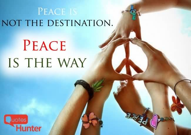 Peace Love Quotes 16
