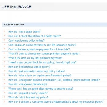 Prudential Life Insurance Quote 18