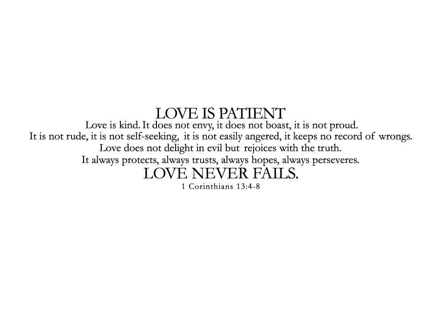 Quote Love Is Patient 11
