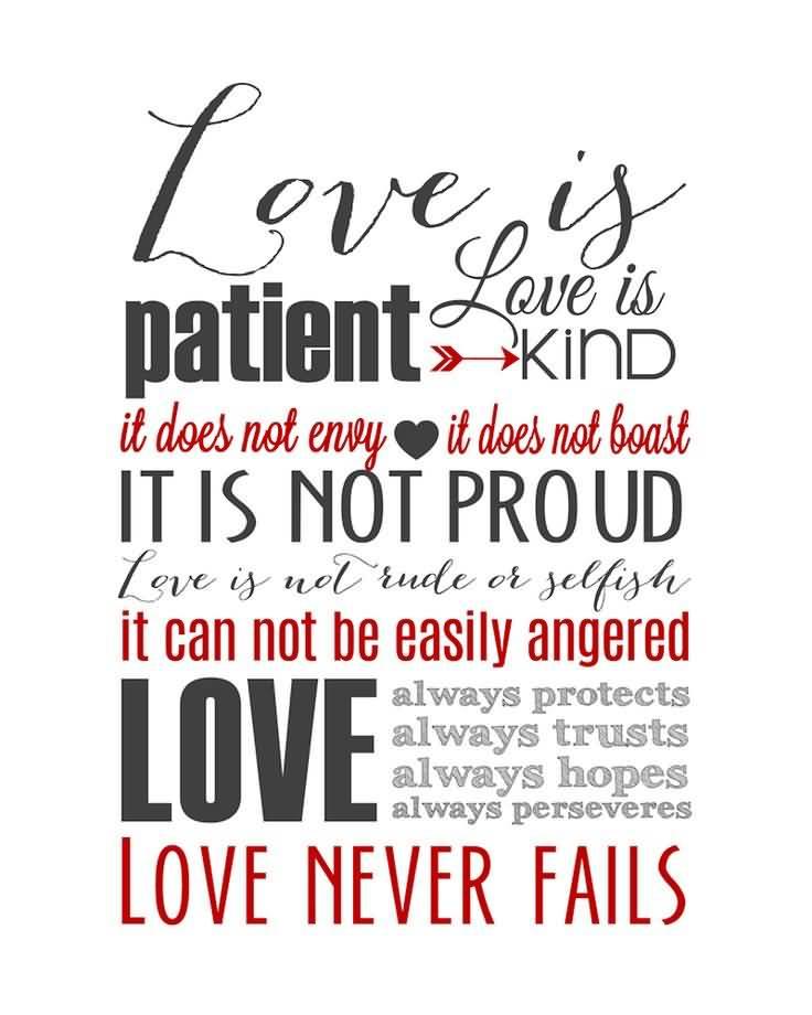 Quote Love Is Patient 14