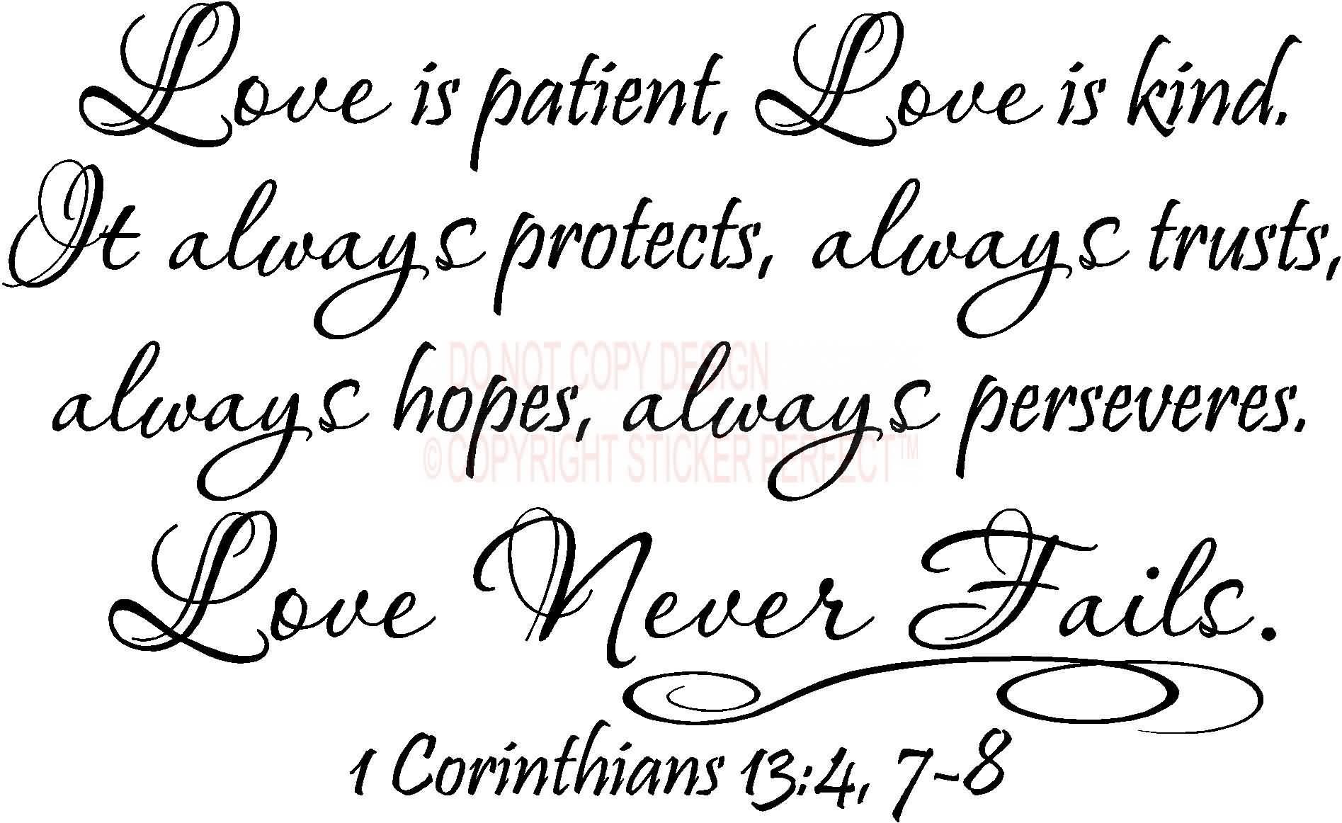 Quote Love Is Patient 16