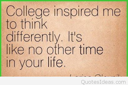 Quotes About College Life 20