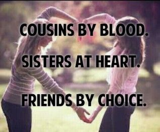 Quotes About Cousin Friendship 07