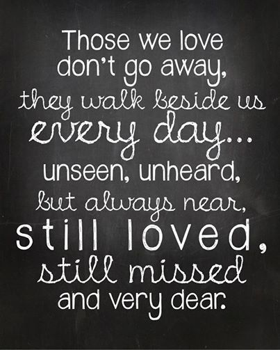 Quotes About Death Of A Loved One Remembered 17