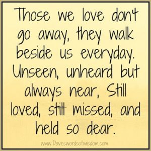 Quotes About Deceased Loved Ones 10