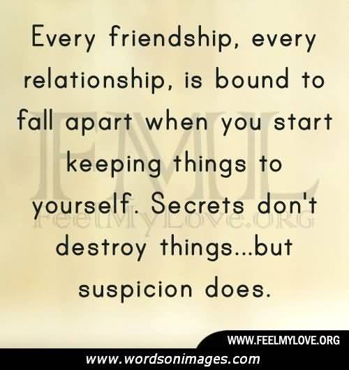 Quotes About Destroyed Friendship 14