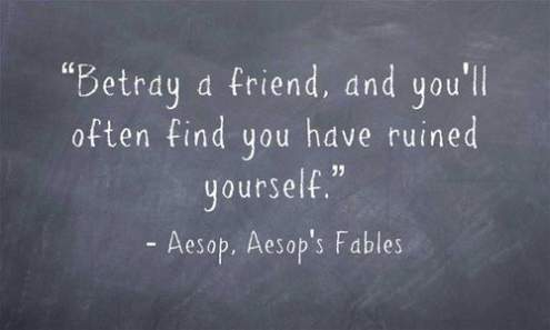 Quotes About Destroyed Friendship 18