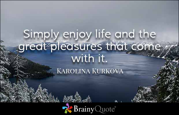Quotes About Enjoying Life 13