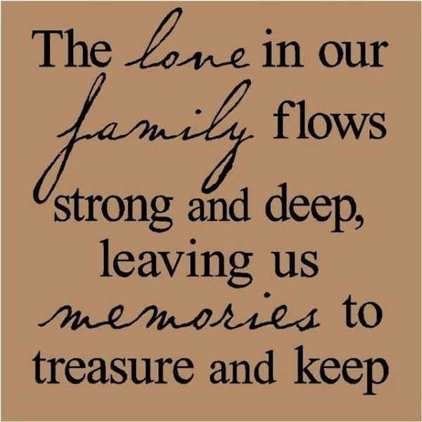 Quotes About Family Love 13