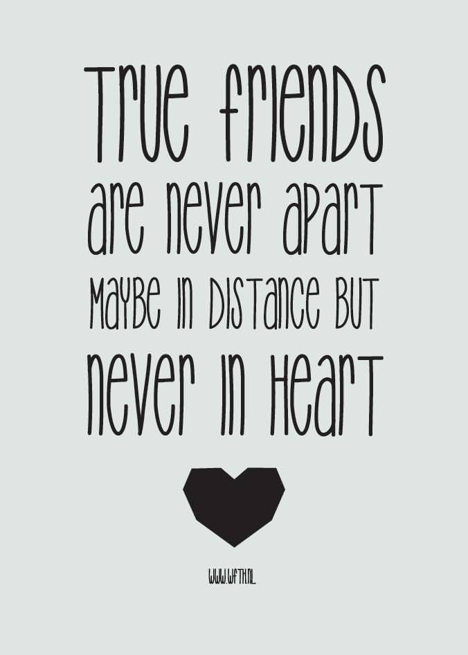 Quotes About Friendship Distance 16