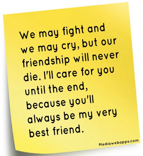 Quotes About Friendship Fights 02