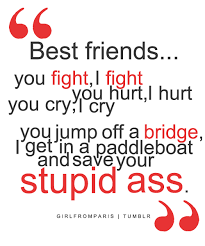 Quotes About Friendship Fights 07