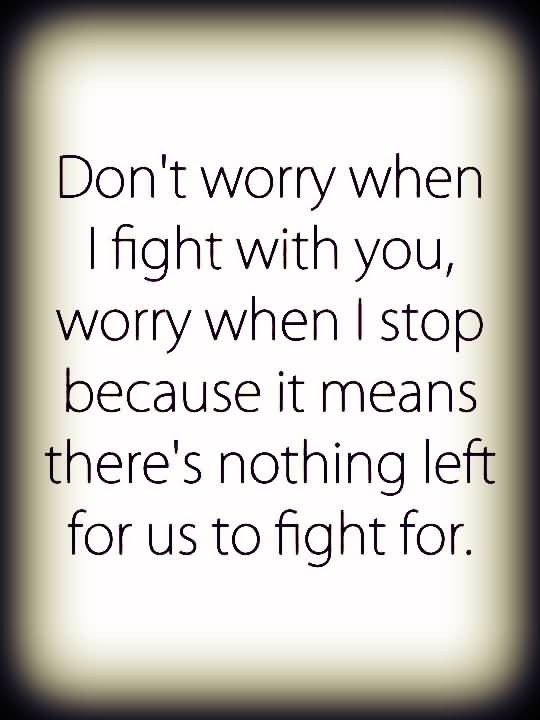 Quotes About Friendship Fights 10