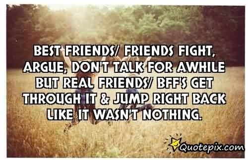 Quotes About Friendship Fights 14
