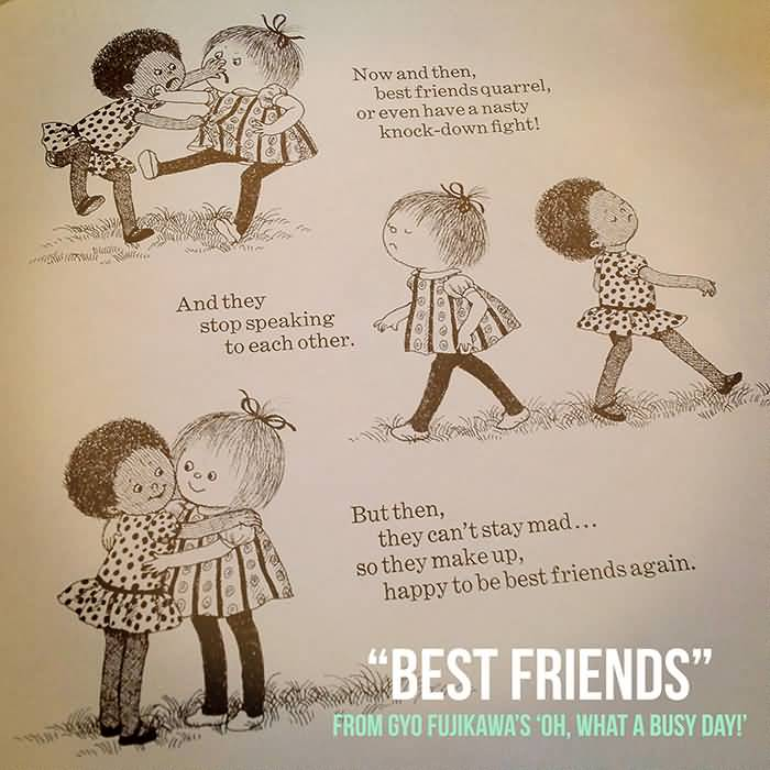 Quotes About Friendship Fights 17