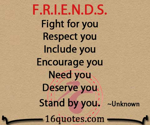 Quotes About Friendship Fights 18