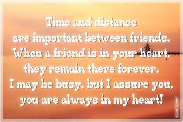 Quotes About Friendships And Distance 12