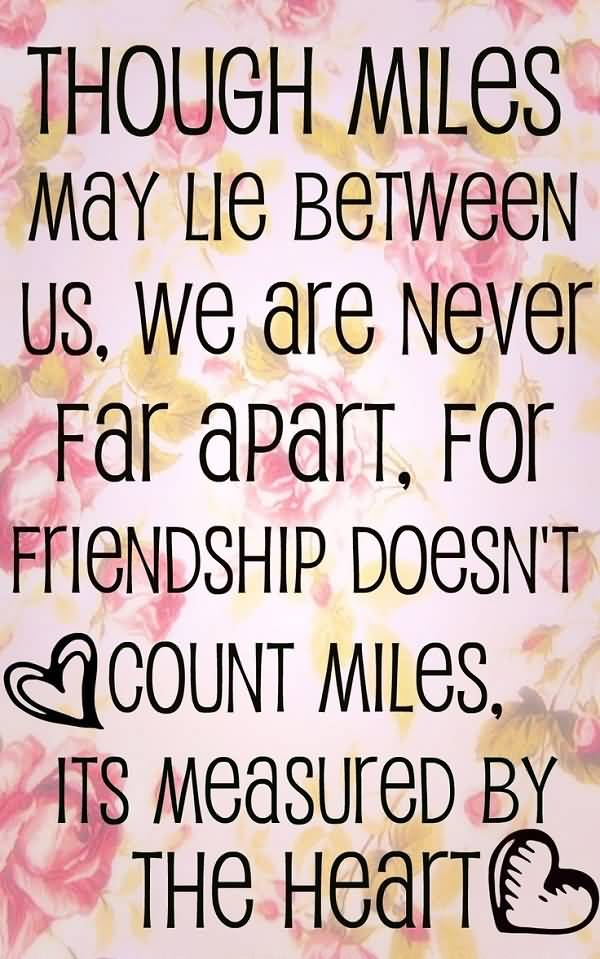 Quotes About Friendships And Distance 19