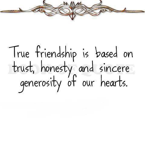 Quotes About Honesty In Friendship 11