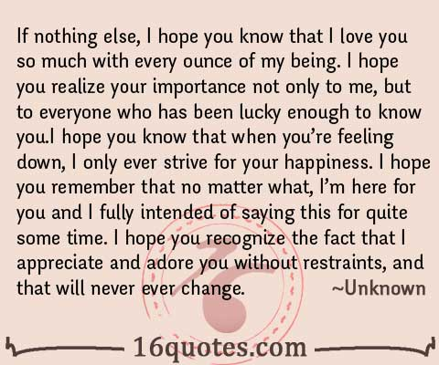quotes about how much i love you 14