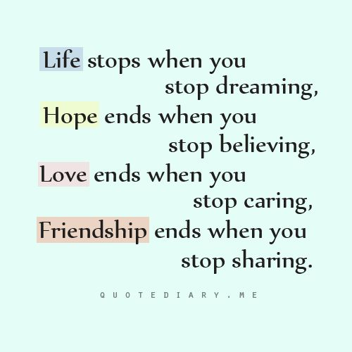 Quotes About Life And Friendship 11