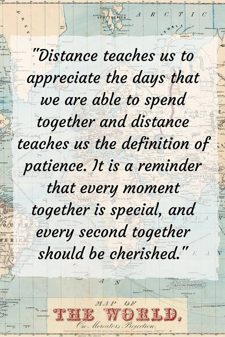 20 Quotes About Long Distance Friendship & Images | QuotesBae