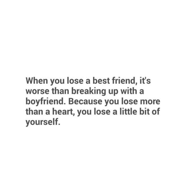 Quotes About Losing A Best Friend Friendship 01