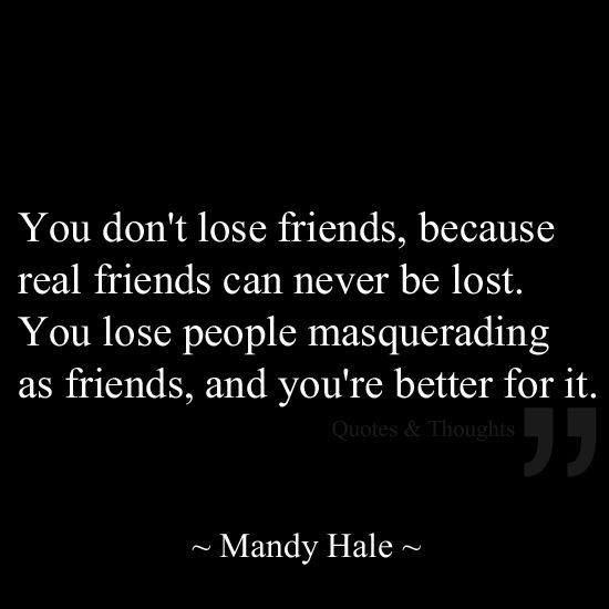 Quotes About Lost Friendships 18