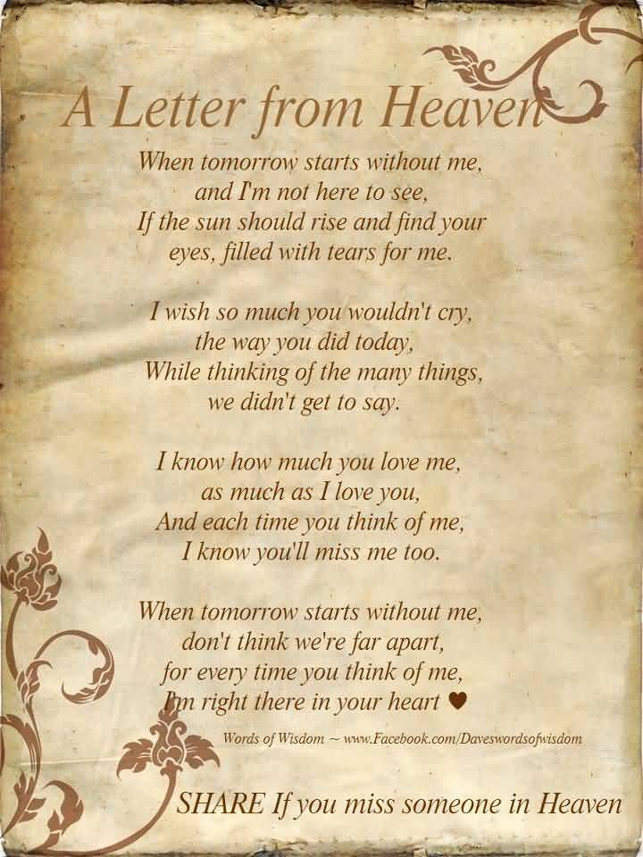 Quotes About Lost Loved Ones In Heaven 02