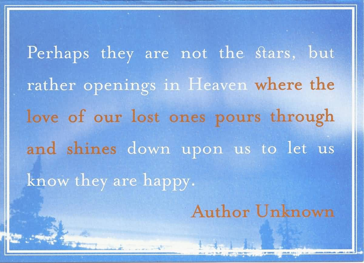 Quotes About Lost Loved Ones In Heaven 08