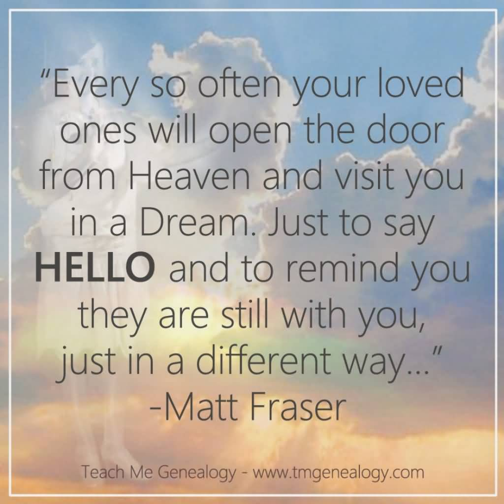 Quotes About Lost Loved Ones In Heaven 16