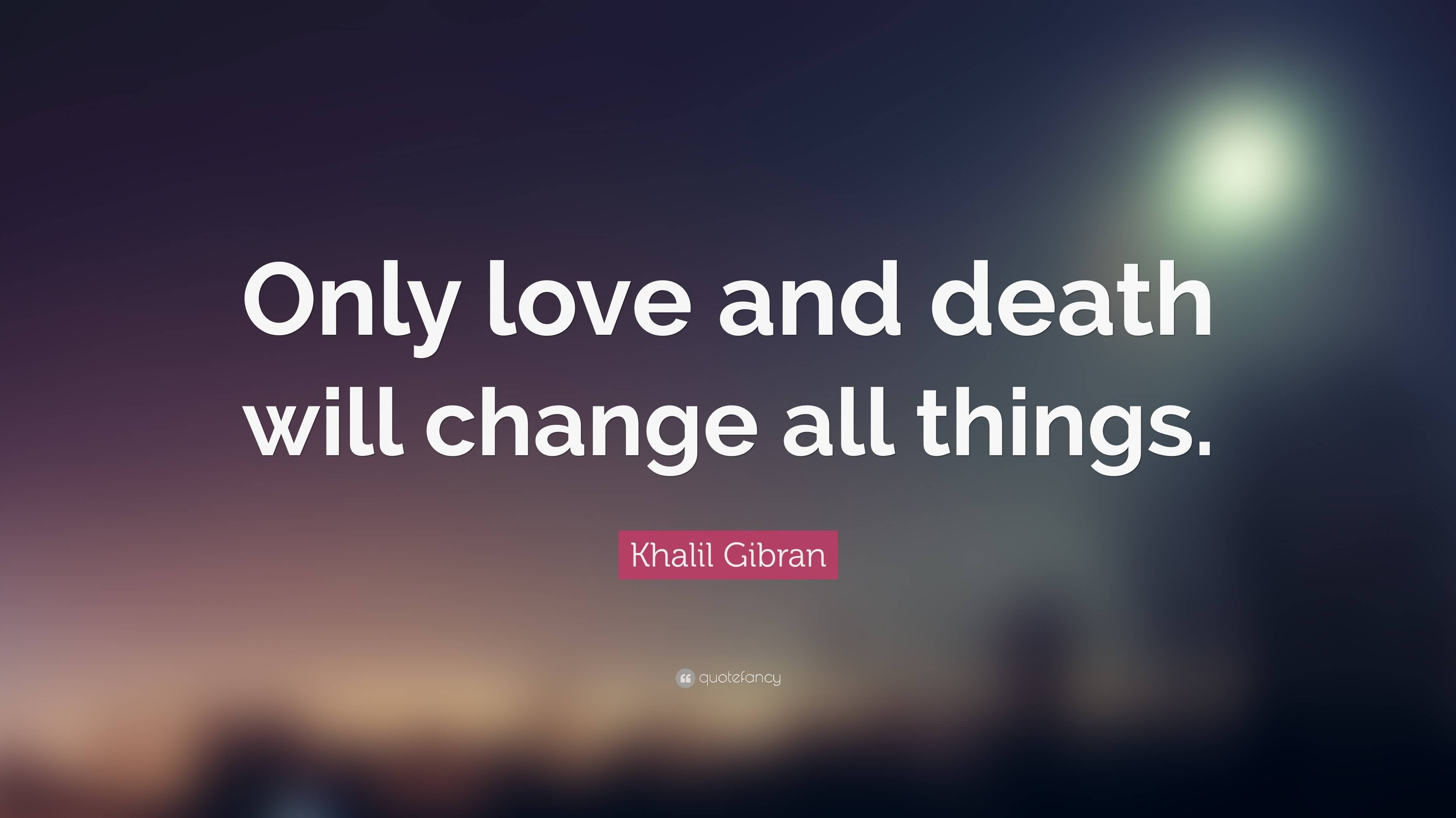 Quotes About Love And Death 03